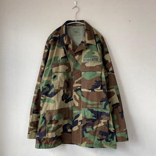 サンタモニカ(Santa Monica)の90s U.S.ARMY ウッドランドカモ ジャケット M 米軍 迷彩 BDU(ミリタリージャケット)