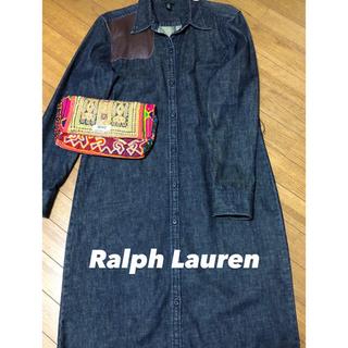 ラルフローレン(Ralph Lauren)のRalph Lauren デニムワンピース ♡(ロングワンピース/マキシワンピース)
