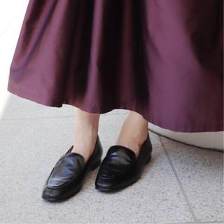 イエナ(IENA)のパスクッチローファー 店舗限定色ブラウン 23cm(ローファー/革靴)