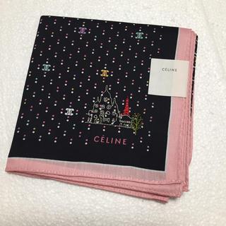 セリーヌ(celine)の⭐️お値下げ⭐️新品⭐️セリーヌ ハンカチ  刺繍(ハンカチ)