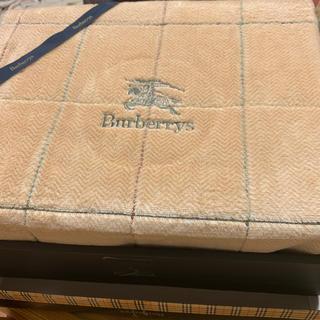 バーバリー(BURBERRY)のバーバリー 綿毛布 未使用品(毛布)