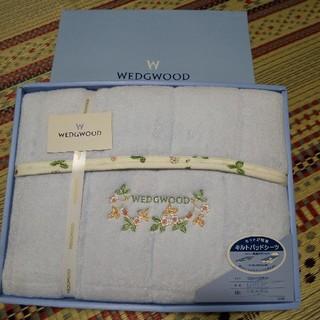 WEDGWOOD - WEDGWOOD キルトパッドシーツ ワイルドベリー