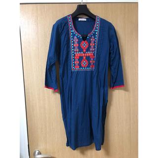 ナウシカ風青い衣 アラブストリート チュニック(チュニック)