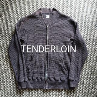 テンダーロイン(TENDERLOIN)のTENDERLOIN ヘビーサーマルジップブルゾン ワッフル テンダーロイン(ブルゾン)