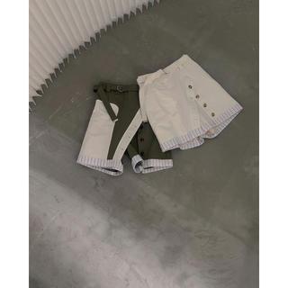 Ameri VINTAGE - 新品 Ameri MEDI UP SIDE DOWN SHORT PANTS