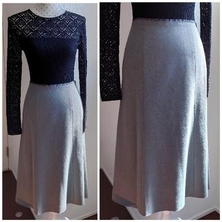 ランバンオンブルー(LANVIN en Bleu)のLANVIN en blue  スカート(ひざ丈スカート)