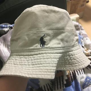 ポロラルフローレン(POLO RALPH LAUREN)の【りつど様専用】ラルフローレン バケットハット 帽子 ベージュ(ハット)