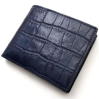 ブラックレーベルクレストブリッジ(BLACK LABEL CRESTBRIDGE)の【新品・袋付き】ブラックレーベル クレストブリッジ 折り財布 クロコ レザー(折り財布)