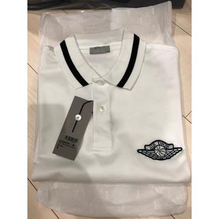 クリスチャンディオール(Christian Dior)の国内正規品 air dior  NIKE jordan ポロシャツ ホワイト(ポロシャツ)