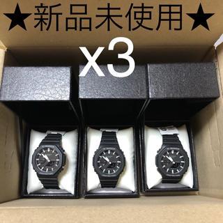ジーショック(G-SHOCK)の★新品未使用★ GA-2100-1AJF  G-SHOCK x3(腕時計(アナログ))