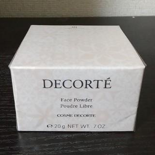 コスメデコルテ(COSME DECORTE)のコスメデコルテ フェイスパウダー 10 ミスティベージュ(フェイスパウダー)