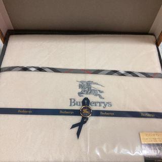 バーバリー(BURBERRY)の新品Burberrys  コットンボアシーツ(シーツ/カバー)