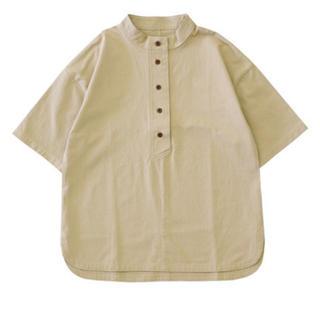ロンハーマン(Ron Herman)のselect moca スタンドカラーアドバンスデザイントップス(シャツ/ブラウス(半袖/袖なし))