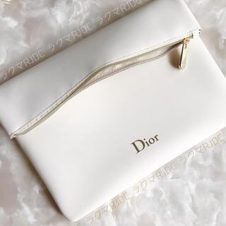 ディオール(Dior)の【新品箱なし】ディオール クラッチ クラッチバッグ 折りたたみポーチ 非売品(クラッチバッグ)