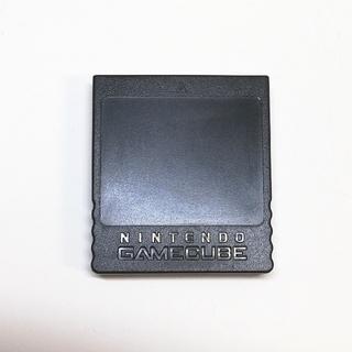 ニンテンドーゲームキューブ(ニンテンドーゲームキューブ)の任天堂 ゲームキューブ 純正 メモリーカード 251ブロック(その他)