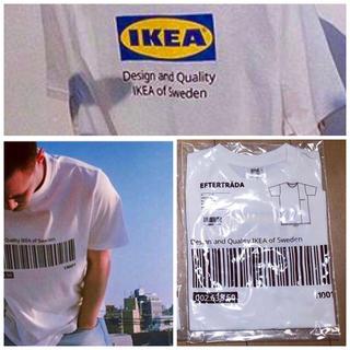 イケア(IKEA)の新品未使用 匿名発送 IKEA エフテルトレーダ  tシャツ  S/M(Tシャツ(半袖/袖なし))