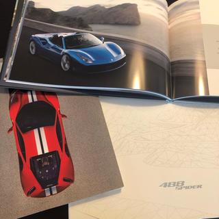 Ferrari - フェラーリ488 スパイダー ハードカバーカタログ 3点セット