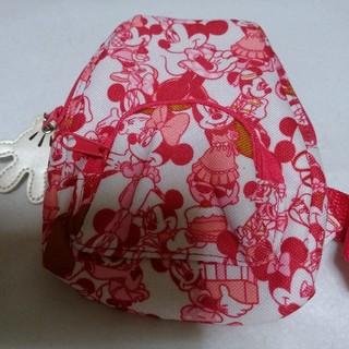 ディズニー(Disney)のミニーのバッグ/スマホケース/タバコケース/定期入れ/カメラケース(ケース/バッグ)