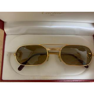 カルティエ(Cartier)の最後値下げ カルティエ メガネ ヴィンテージ ゴールド サングラス(サングラス/メガネ)