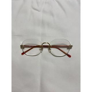 アヤメ(Ayame)のVintage limless  glasses(サングラス/メガネ)