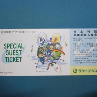 aki5391様専用 ★三井グリーンランド遊園地等入場券4枚セット★(その他)