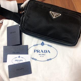 プラダ(PRADA)のプラダ  PRADA ウエストバッグ ユニセックス 新品未使用(ウエストポーチ)