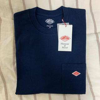 ダントン(DANTON)のDanton 紺色Tシャツ新品未使用(Tシャツ(半袖/袖なし))