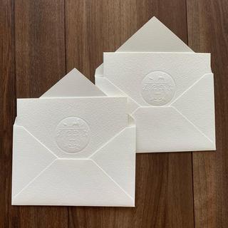 エルメス(Hermes)のエルメス メッセージカード 2枚(カード/レター/ラッピング)