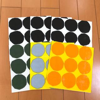 マリメッコ(marimekko)のペーパーナプキン  マリメッコ  キヴェット   6枚(各種パーツ)