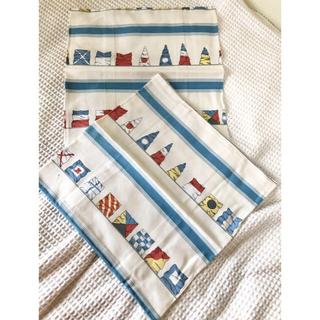 ラルフローレン(Ralph Lauren)の新品 レア ラルフローレン クッションカバー 二枚セット 非売品 国旗柄(クッションカバー)
