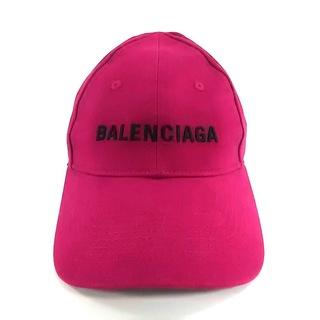 バレンシアガ(Balenciaga)のバレンシアガ キャップ 58cm - ピンク(キャップ)