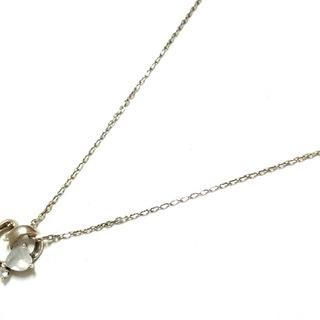 サマンサタバサ(Samantha Thavasa)のサマンサタバサ ネックレス美品  白 ハート(ネックレス)