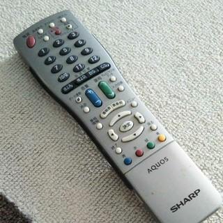 シャープ(SHARP)のシャープ AQUOS テレビリモコン560(その他)