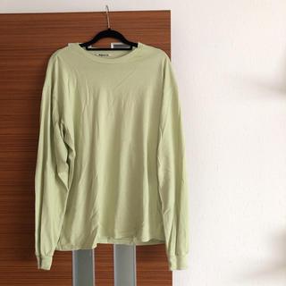 コモリ(COMOLI)のAURALEE -  19ss LUSTER PLAITING L/S TEE(Tシャツ/カットソー(七分/長袖))