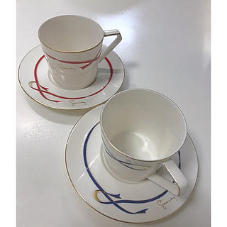 ジバンシィ(GIVENCHY)のジバンシー カップ&ソーサ ペア(グラス/カップ)