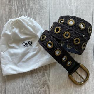 ディーアンドジー(D&G)のD&G★ベルト★ブラウン (ベルト)