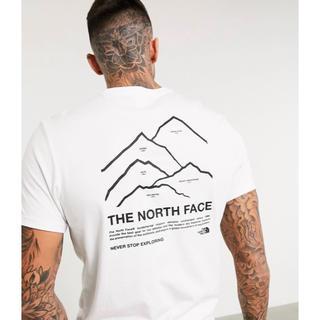 ザノースフェイス(THE NORTH FACE)の【Mサイズ】新品タグ付き ノースフェイス ピークスTシャツ ホワイト(Tシャツ/カットソー(半袖/袖なし))
