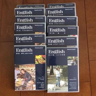 [未使用]SPEED LEARNING スピードラーニング 5〜16巻(CDブック)