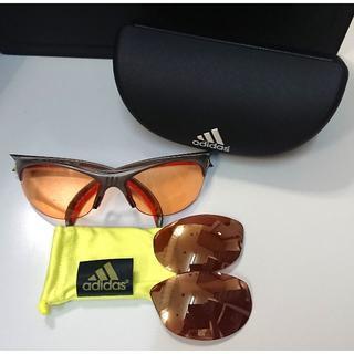 アディダス(adidas)の6561 adidas スポーツサングラス アディダス A123 Lサイズ(サングラス/メガネ)