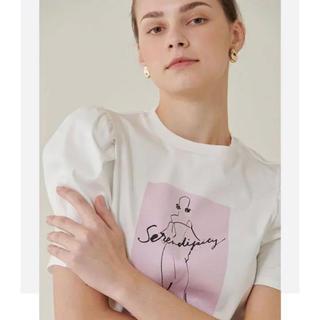 フレイアイディー(FRAY I.D)の【林檎様】CELFORD ♡ コラボプリントTシャツ(Tシャツ(半袖/袖なし))