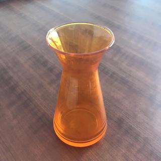 アクタス(ACTUS)のACTUS ガラス花瓶(オレンジ)(花瓶)