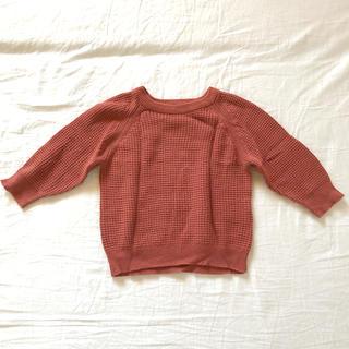フタフタ(futafuta)のteteatete ニットセーター 80センチ(ニット/セーター)