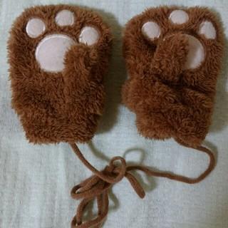 くま手袋幼稚園児用(手袋)