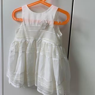 エイチアンドエム(H&M)のリングガール 結婚式 ワンピース 90cm(ドレス/フォーマル)