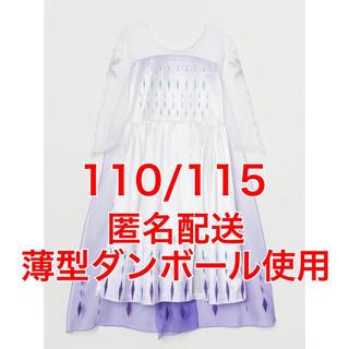 エイチアンドエム(H&M)のH&M エルサ ドレス 精霊 エンディング 仮装 キッズ 110 ハロウィン(ドレス/フォーマル)