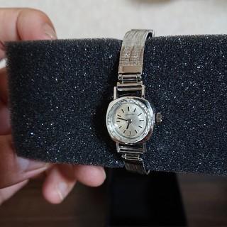 ゼニス(ZENITH)のZENITH カットガラス レディース 時計(腕時計)