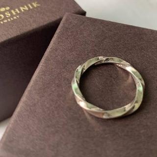 ココシュニック(COCOSHNIK)のお値下げ中✩ ココシュニック ねじり シルバー リング (リング(指輪))