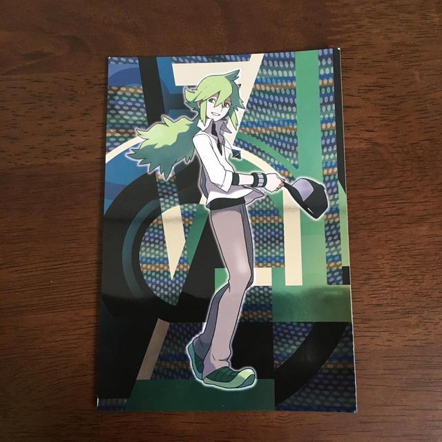 ポケモン(ポケモン)のラメ ポストカード ポケットモンスター ポケセン エンタメ/ホビーのコレクション(ノベルティグッズ)の商品写真
