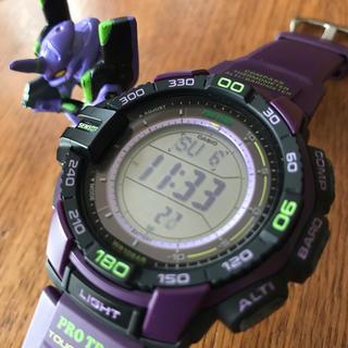 カシオ(CASIO)のCASIO PROTREK プロトレック PRG-270-6A エヴァ初号機(腕時計(デジタル))