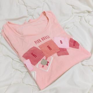 ピンクハウス(PINK HOUSE)の【ynさん専用】ピンクハウス くま柄Tシャツ(ピンク)(Tシャツ(半袖/袖なし))